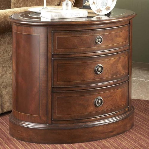 Belfort Signature Westview Oval Occassional Chest with Drawers
