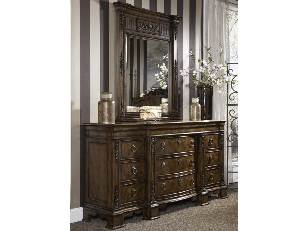 Fine Furniture Design BelvedereDresser & Mirror
