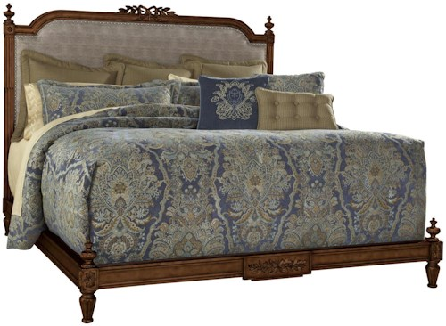 Fine Furniture Design Biltmore Queen Boulevard Bed with Brown Vanderbilt Finish