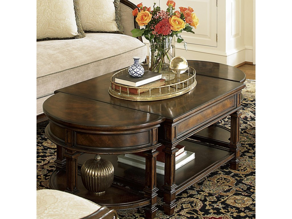 Fine Furniture Design Biltmore Bunching Cocktail Table With 2