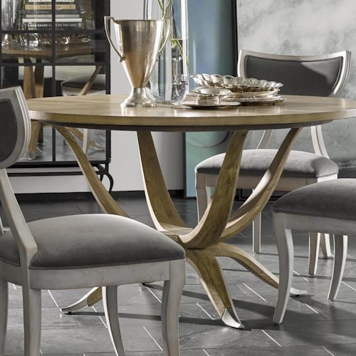 Michael Harrison Collection Brentwood Mila Dining Table With Metal - Nashville dining table