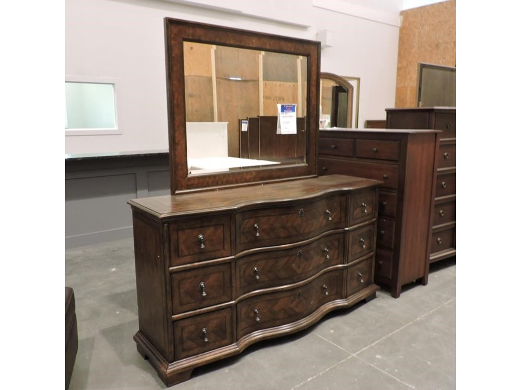 Belfort Signature ClearanceDresser and Mirror