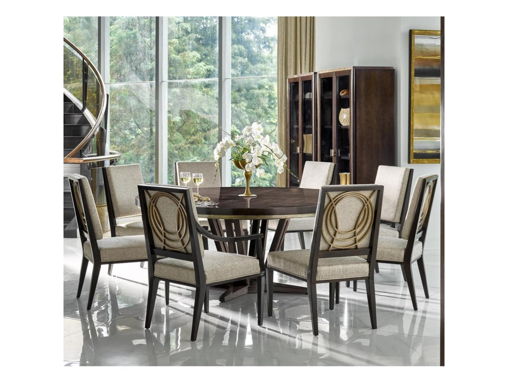 Fine Furniture Design Deco9 Piece Dining Set