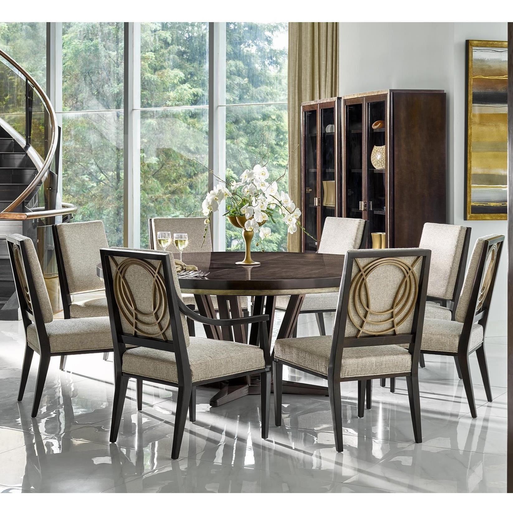 Beau Fine Furniture Design Deco9 Piece Dining Set ...