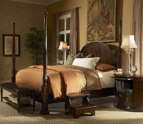 Fine Furniture Design Hyde Park Queen Traditional Poster Bed