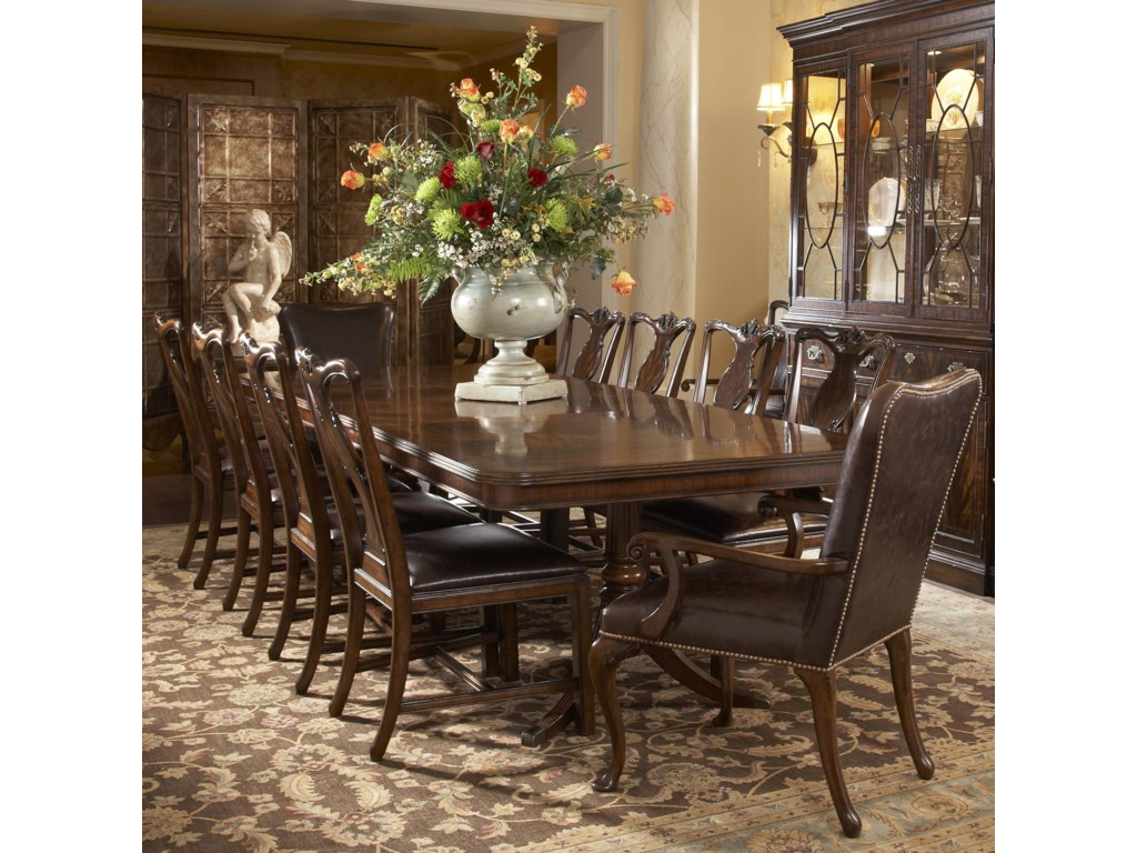 Fine Furniture Design Hyde Park11 Piece Dining Table and Chair Set