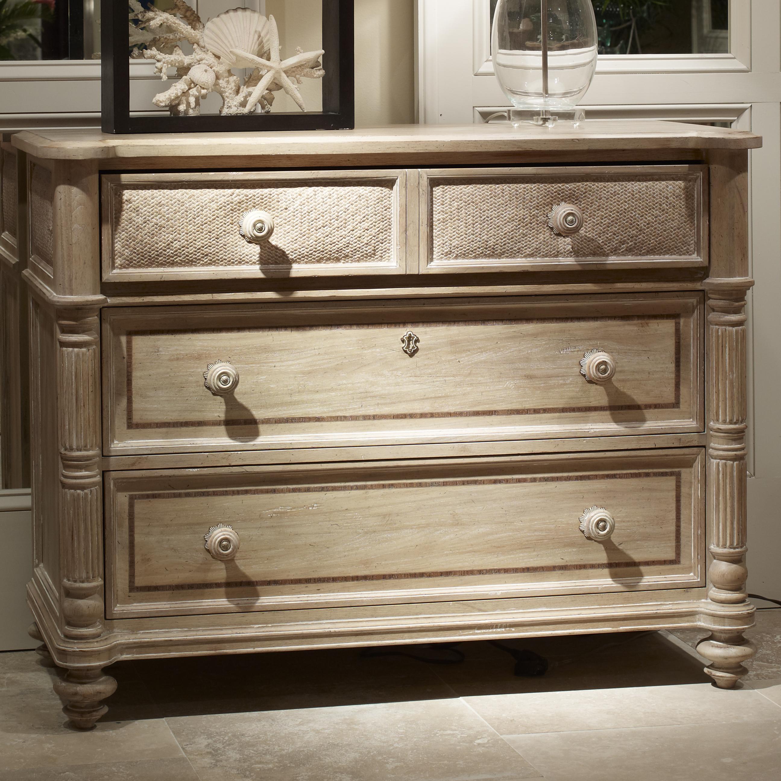 Fine Furniture Design Palm Island Tasman Single Dresser With 2 Drawers And  1 Drop Down Drawer