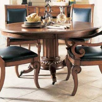 Fine Dining Room Tables: Fine Furniture Design RayLen Vineyards Wine Taster's Pedestal Dining Table
