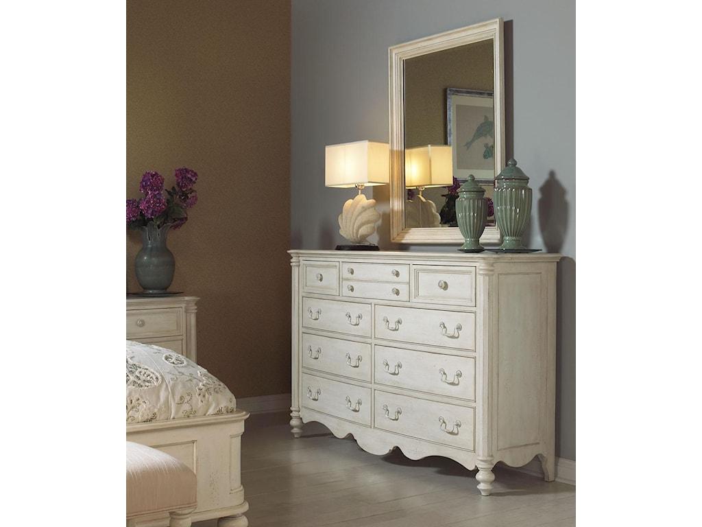 Fine Furniture Design Summer HomeDresser and Mirror Combo