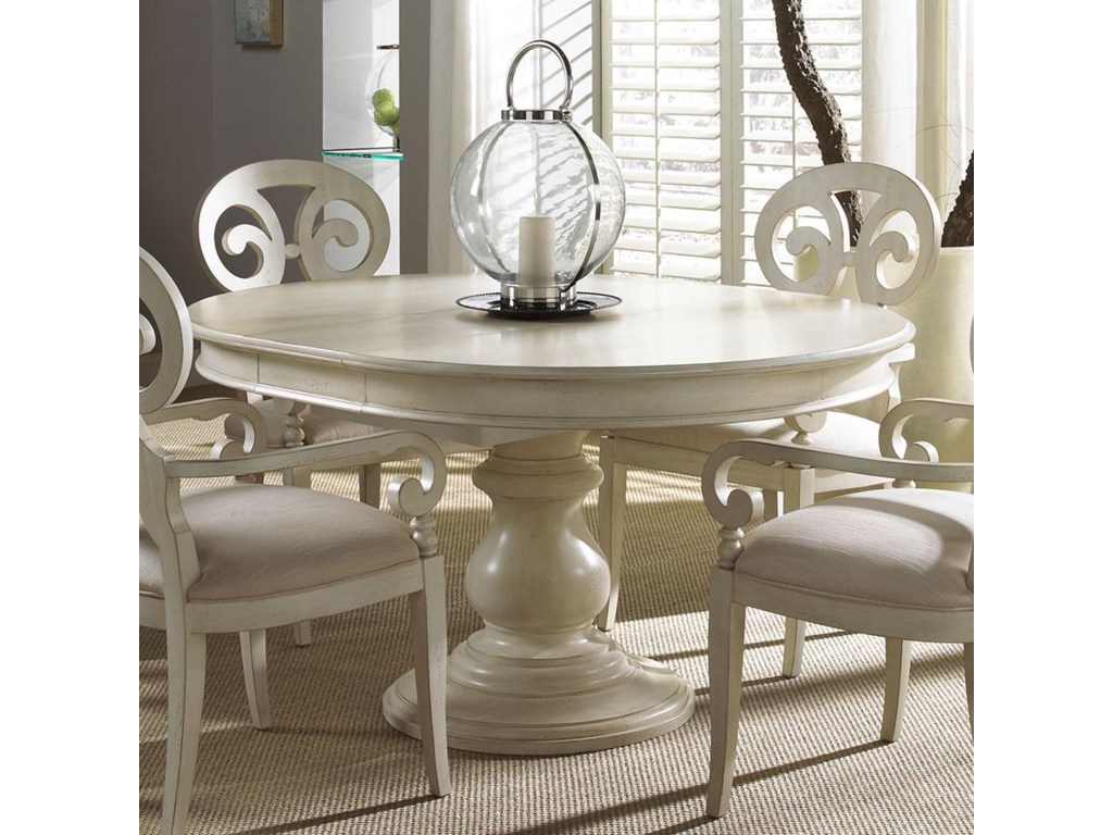 Summer Home Elegant Round Dining Table By Fine Furniture Design