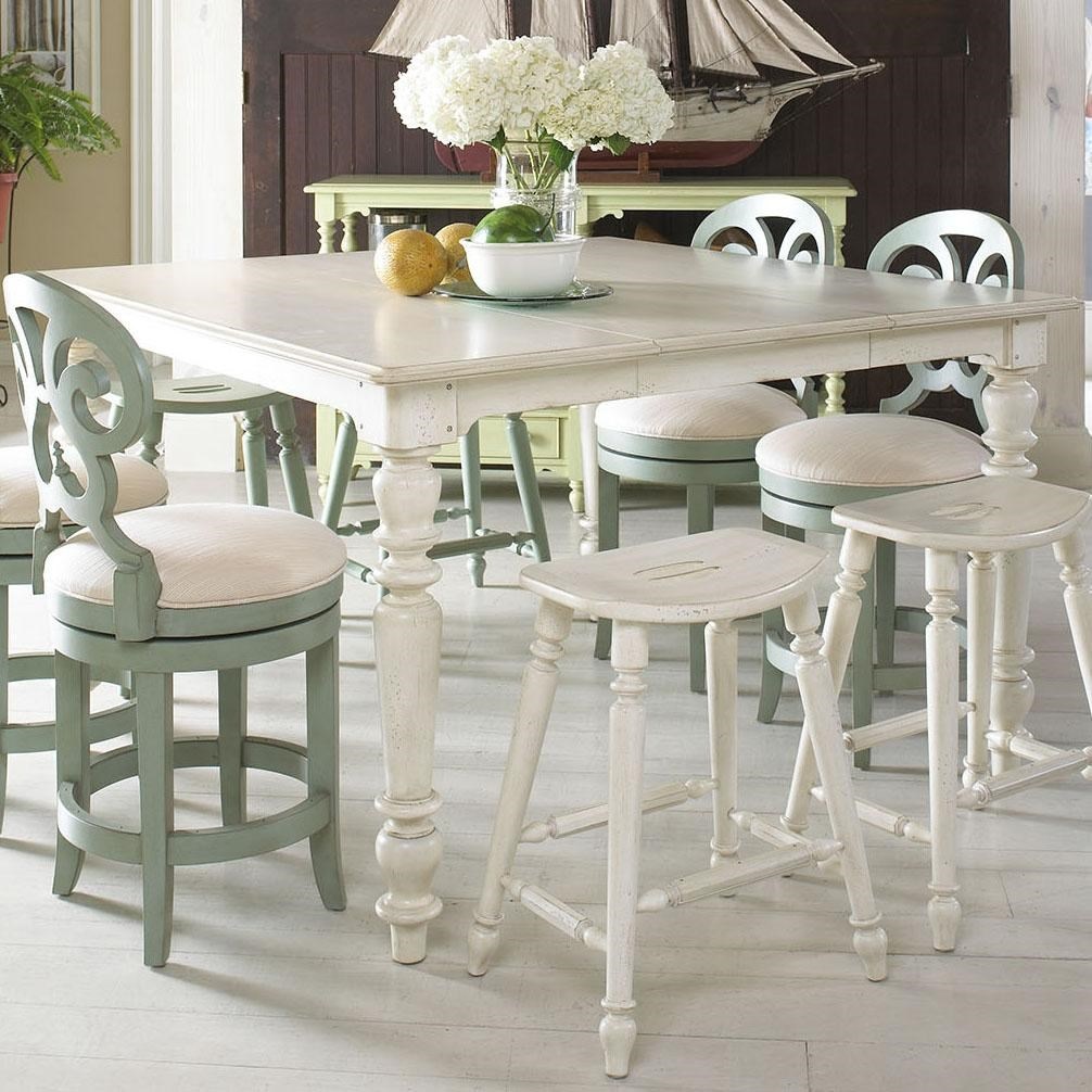 Fine Furniture Design Summer Home Casual High Low Dining Table