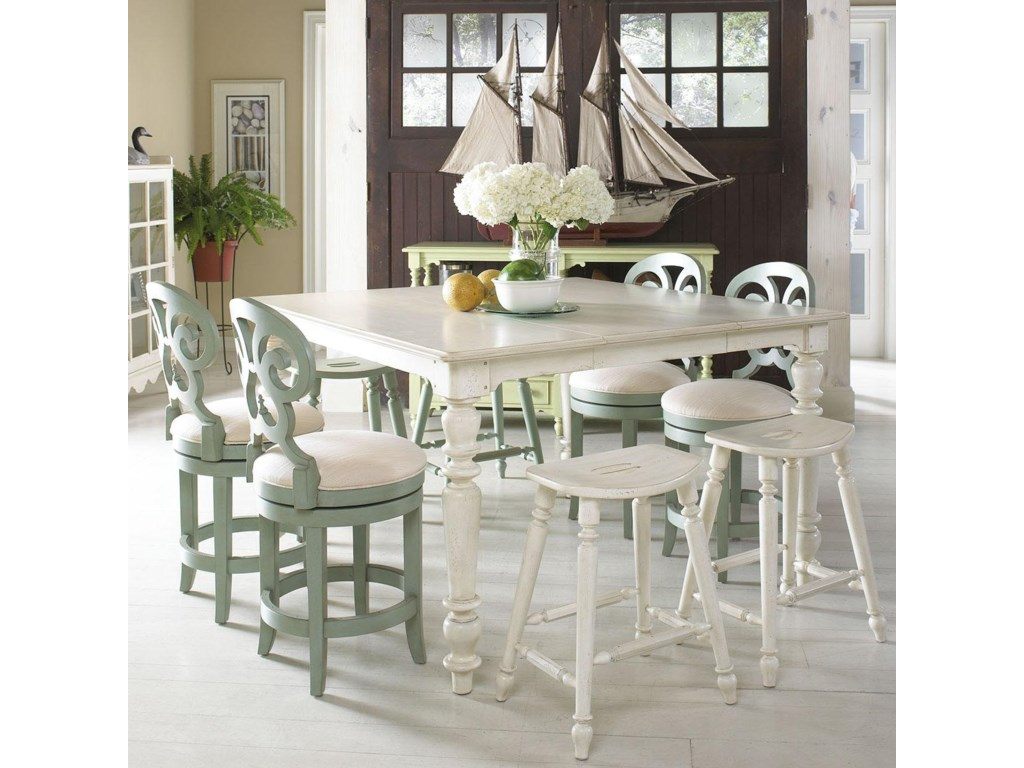 Fine Furniture Design Summer HomeHigh-Low Dining Table