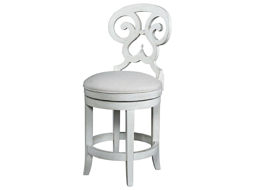 Fine Furniture Design Summer HomeSwivel Counter Stool