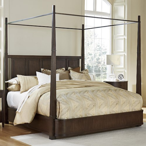 Fine Furniture Design Textures King Avery Metal Canopy Bed