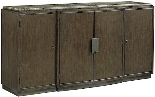 Fine Furniture Design Textures Auden Credenza with Five Adjustable Shelves