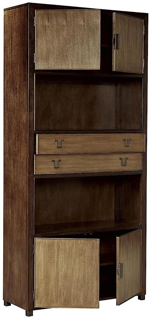 Fine Furniture Design Textures Jenson Bunching Bookcase with Adjustable Shelves