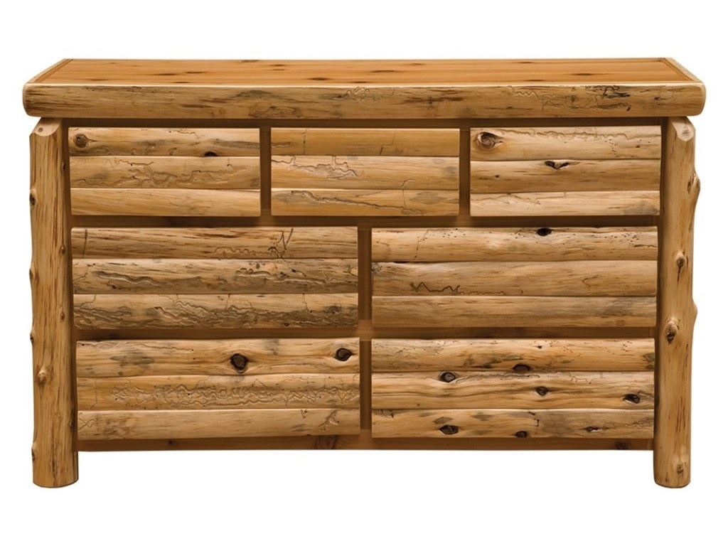 Fireside Lodge Cedar7-Drawer Dresser