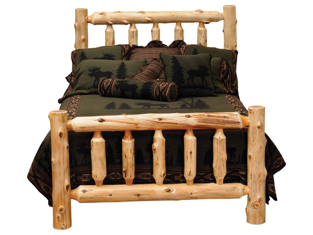 Fireside Lodge CedarKing Footboard