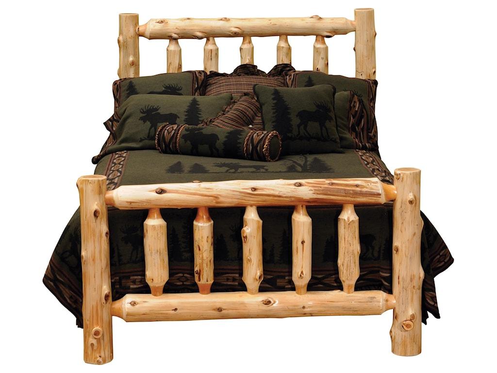 Fireside Lodge CedarKing Headboard