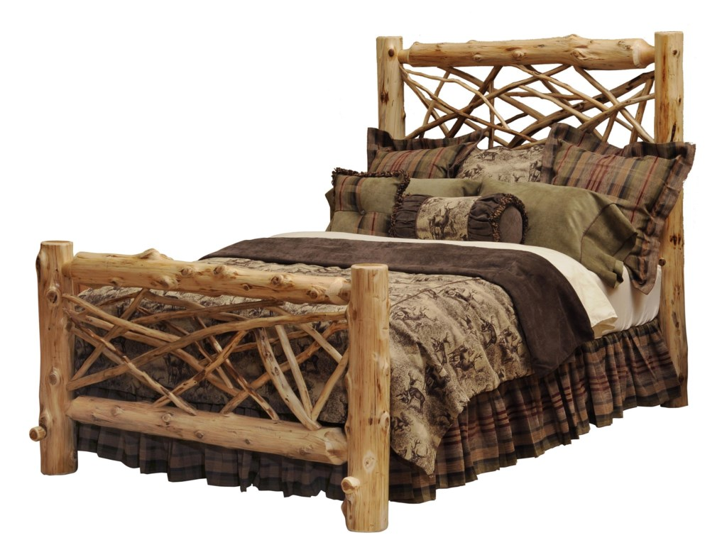 Fireside Lodge TRAILComplete Queen Twig Bed