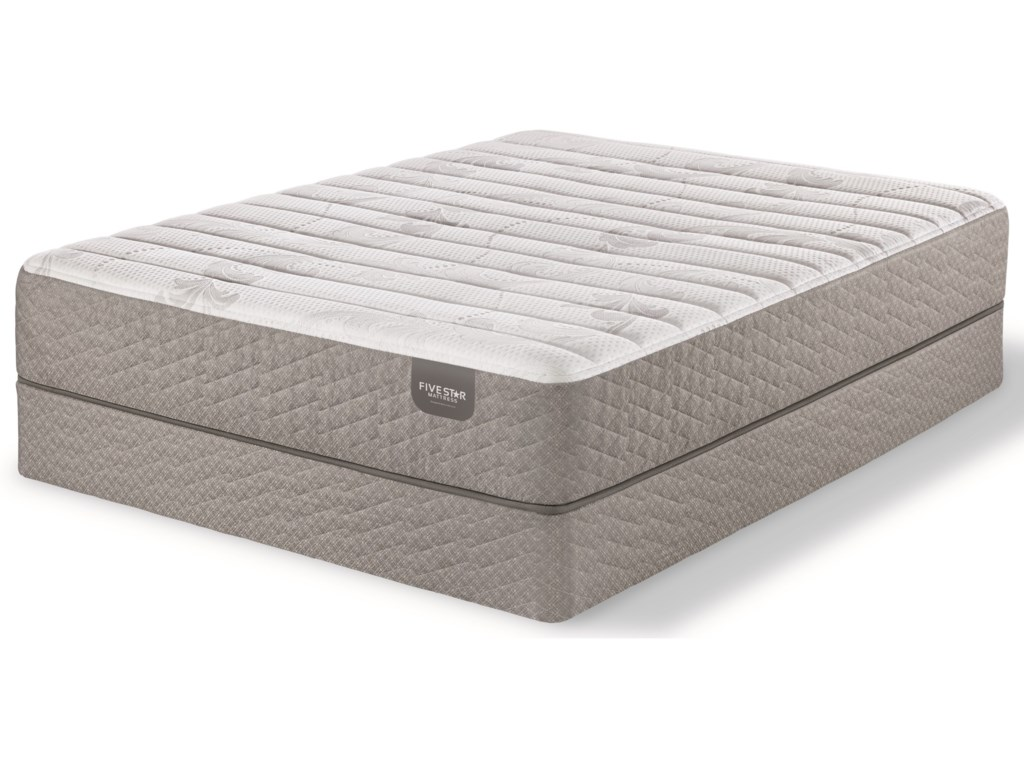Five Star Mattress Fullerton Foam FirmKing Firm Gel Memory Foam Mattress Set