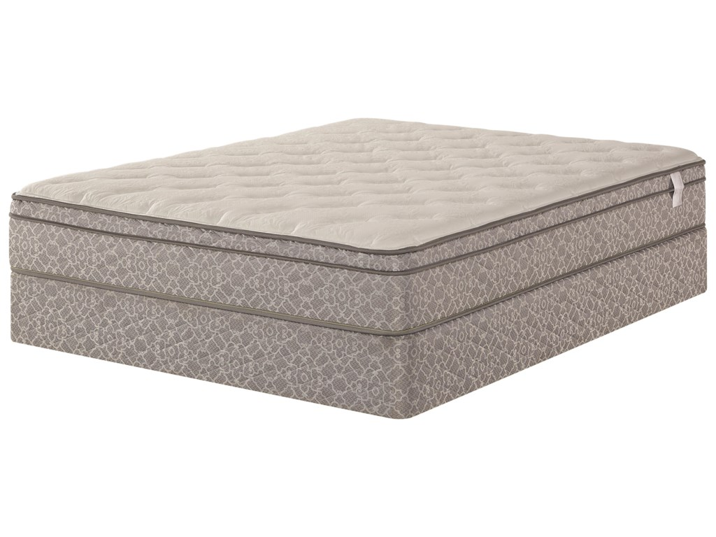 Pro Comfort Dalton Euro Top Queen 11 1 2 Pillow Mattress And Wood Foundation By Five Star