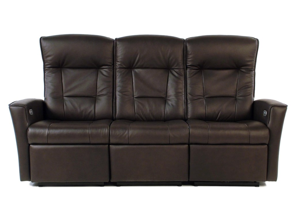 Fjords by Hjellegjerde UlsteinPower Reclining Leather Sofa