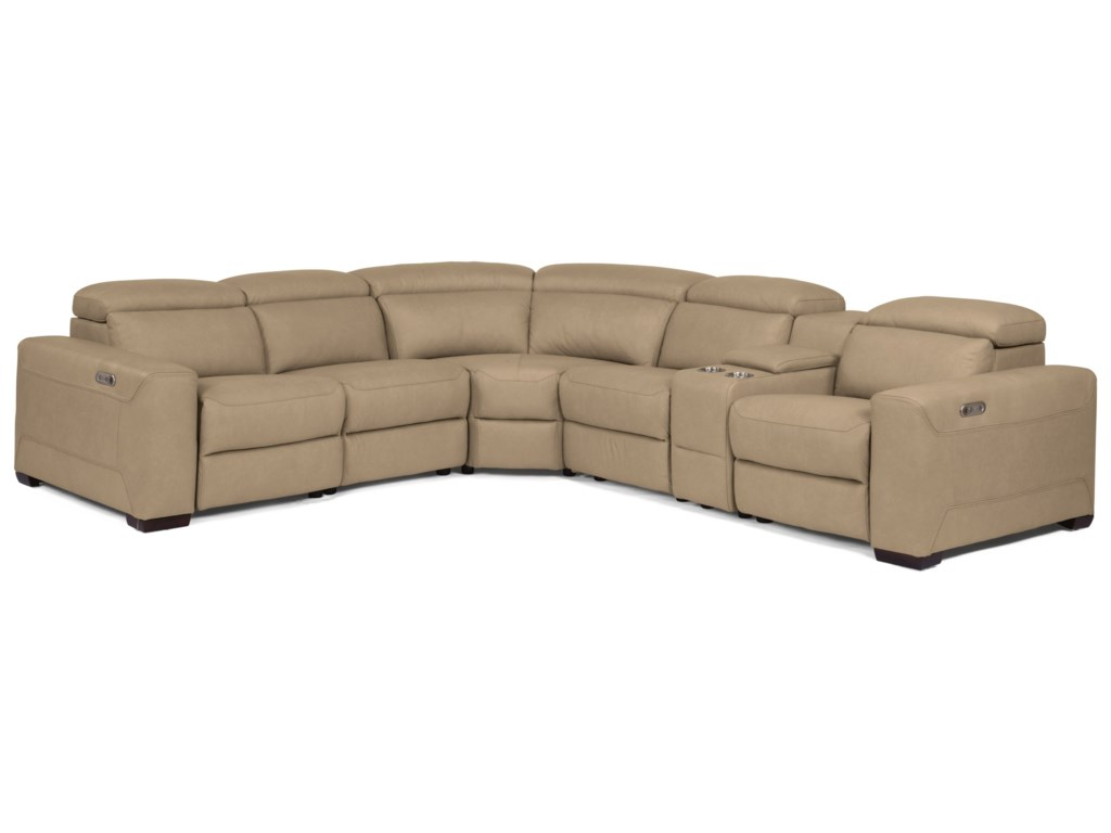 USUALLY SHIPS OUT WITHIN 8-10 WEEKS. LexonPower Reclining Sectional
