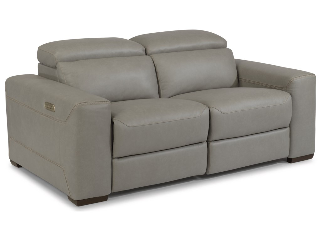 Flexsteel LexonSectional Reclining Love Seat