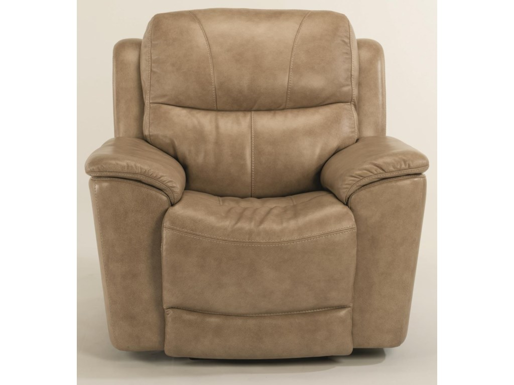 Flexsteel CadePower Recline, Headrest & Lumbar Recliner