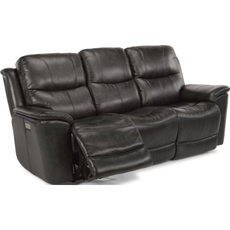 Power Recline, Headrest & Lumbar Sofa