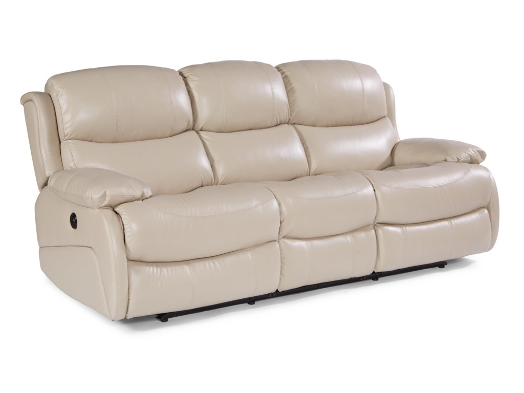 USUALLY SHIPS OUT WITHIN 8-10 WEEKS. Latitudes - AmsterdamPower Double Reclining Sofa