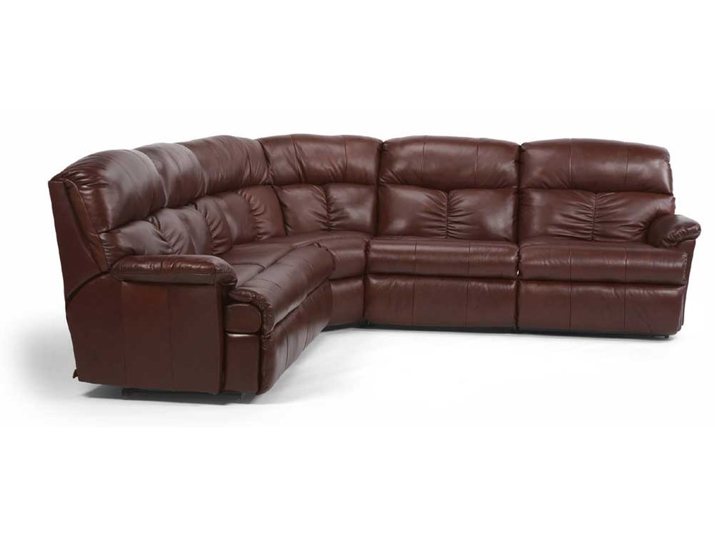 Flexsteel Triton4 Pc. Reclining Sectional