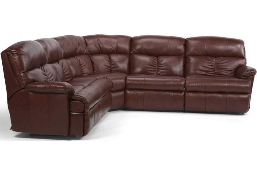 Pleasing Flexsteel Triton Four Piece Reclining Sectional Stegers Gmtry Best Dining Table And Chair Ideas Images Gmtryco