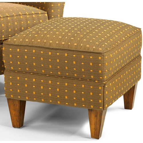 Flexsteel Accents Dancer Upholstered Ottoman