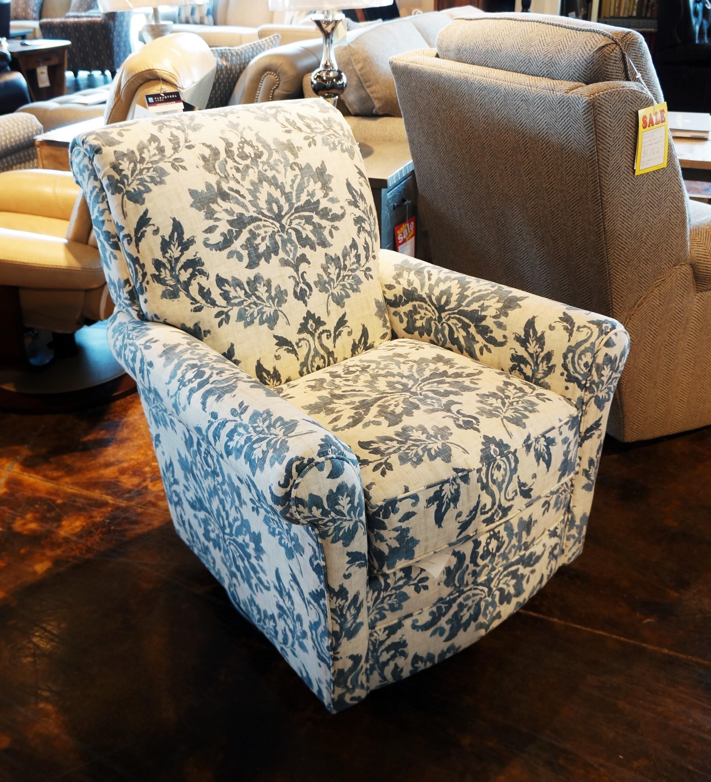 Flexsteel Accents Plaza Swivel Glider Mueller Furniture