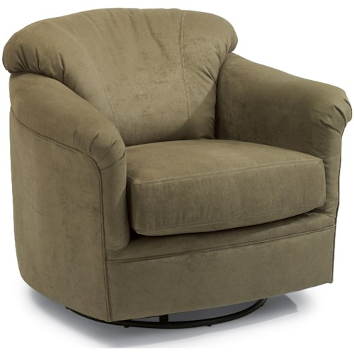 Flexsteel Accents Lombard Swivel Glider
