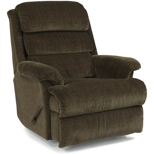 Flexsteel Accents Yukon Rocking Recliner