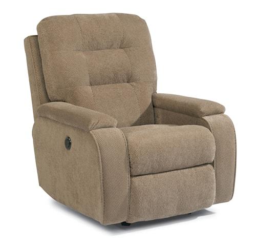 Modern Flexsteel Accents Kerrie Power Rocker Recliner with Channeled Back In 2019 - Beautiful glider recliner chair Elegant