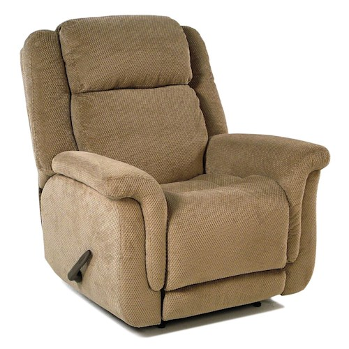 Flexsteel Accents Wall Recliner with Plush Pillow Arms
