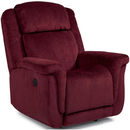 Flexsteel Accents Updraft Rocker Wall Recliner with USB Charging Station