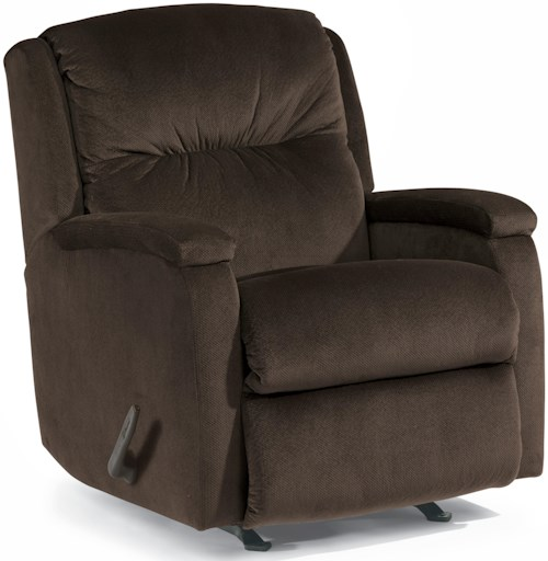 Flexsteel Accents Kayla Rocking Recliner