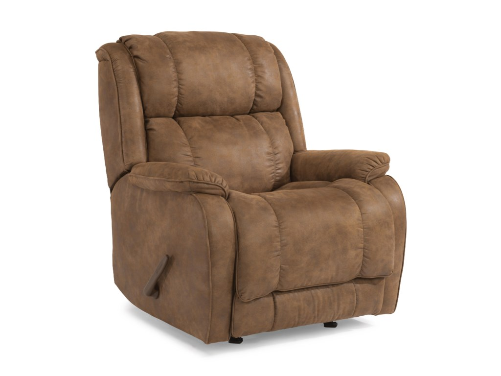 Flexsteel AccentsPower Rocking Recliner