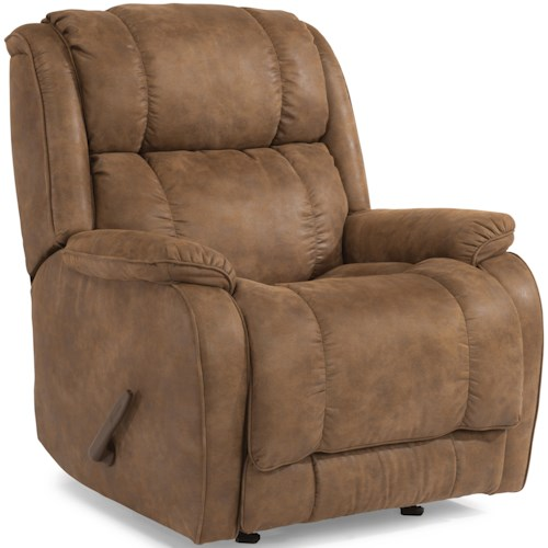 Flexsteel Accents Marcus Swivel Gliding Recliner