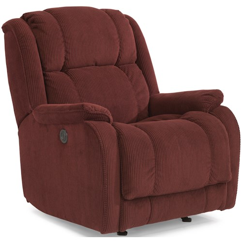 Flexsteel Accents Marcus Power Recliner