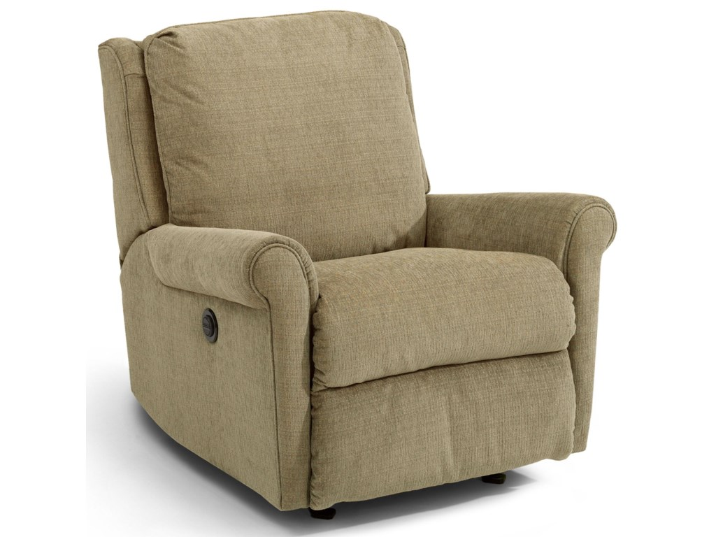 Flexsteel AccentsMacy Swivel Glider Recliner