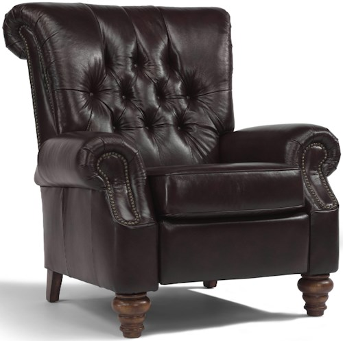Flexsteel Accents Equestrian High Leg Recliner