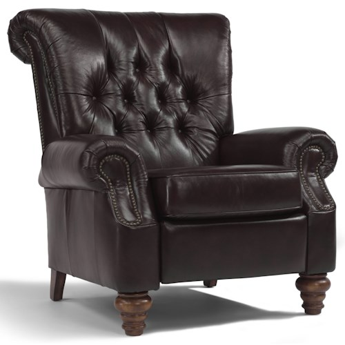 Flexsteel Accents Equestrian Power High-Leg Recliner