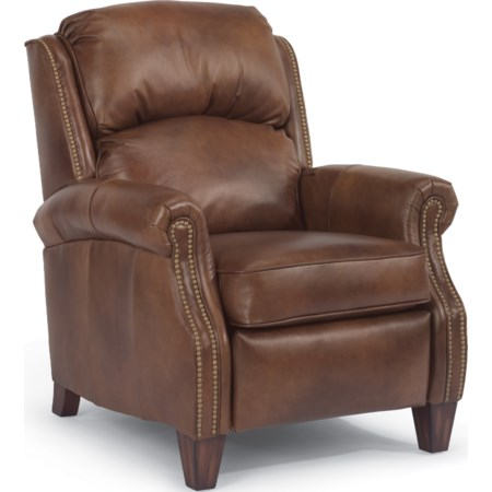 Power Hi Leg Recliner Leather