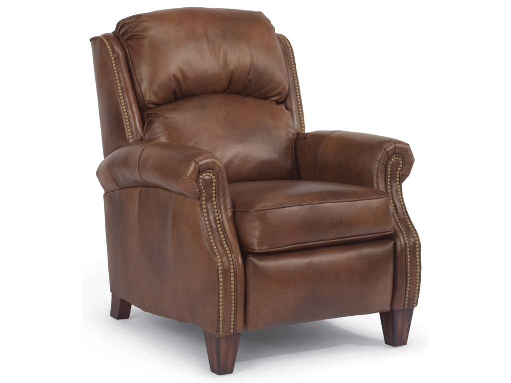 Flexsteel RonniePower Hi Leg Recliner Leather